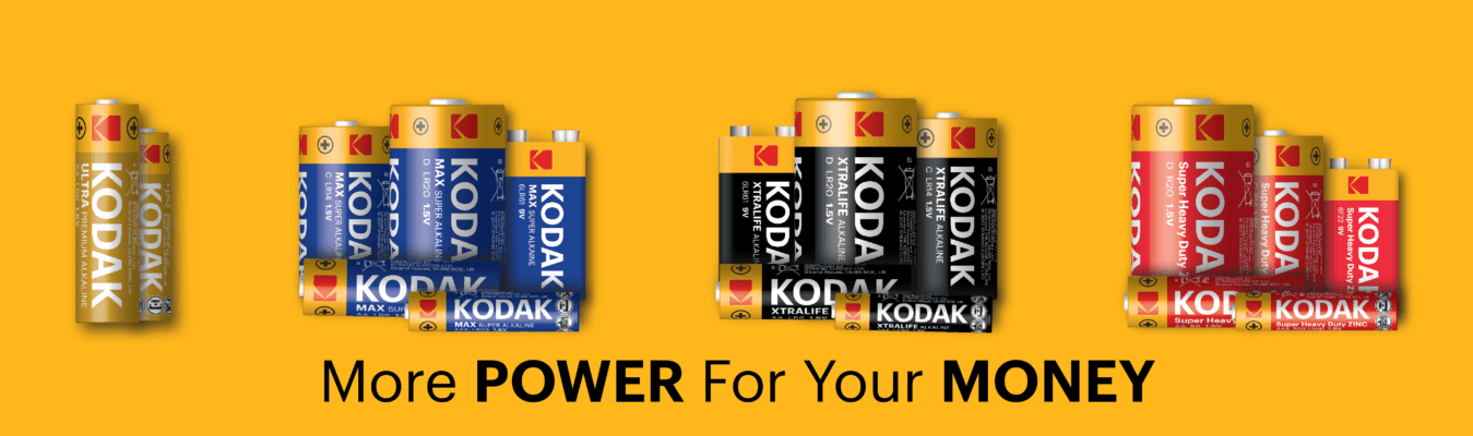 Kodak Batteries