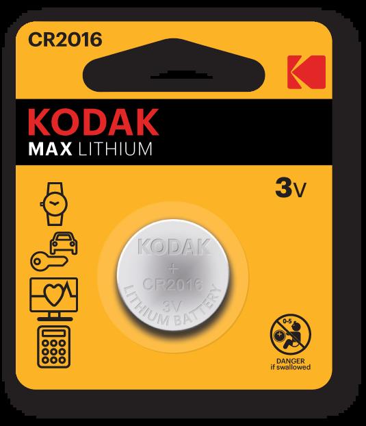 KODAK MAX CR Button Cells