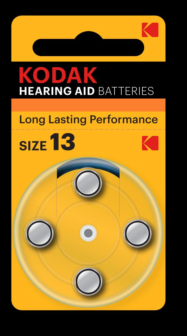 Kodak Hearing Aid Battery