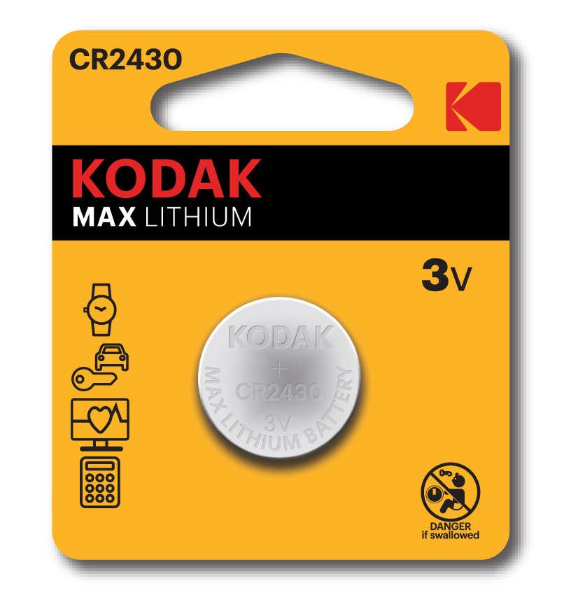 KODAK MAX CR Button Cells