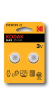 Kodak button cell CR2025