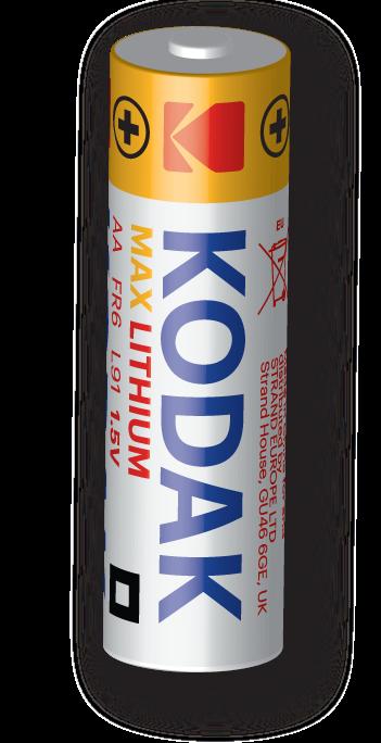 KODAK XTRALIFE Alkaline Batteries