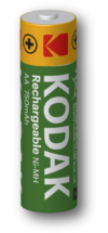 Kodak rechargeable AA Batteries
