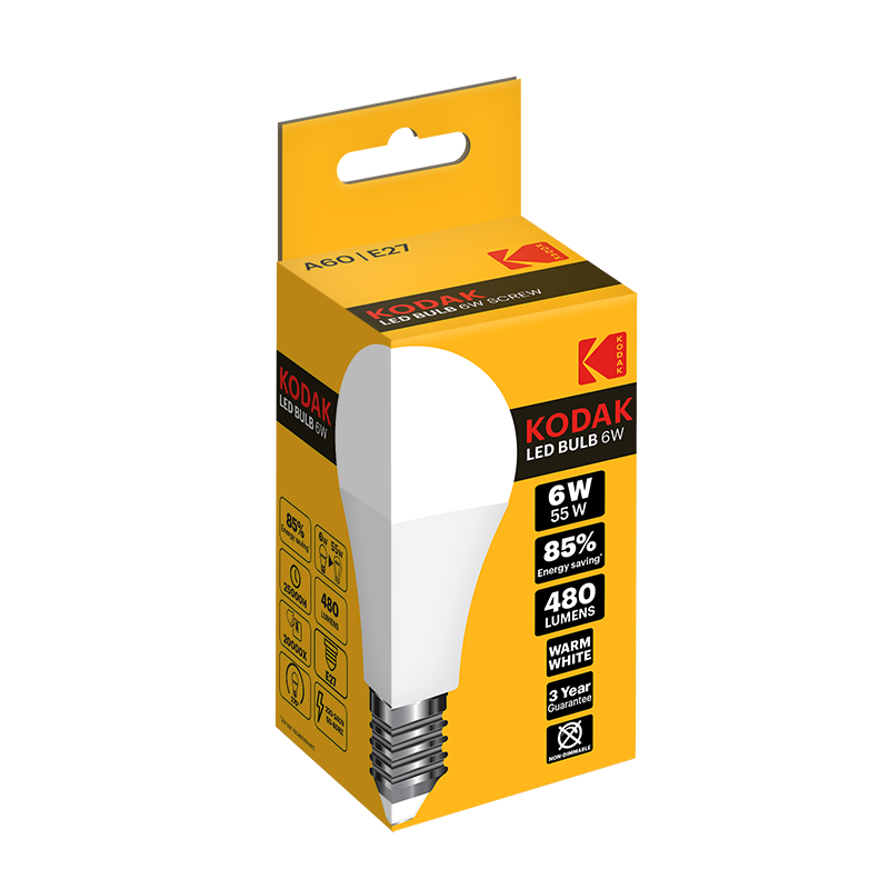 KODAK A60 and G45 LED bulbs