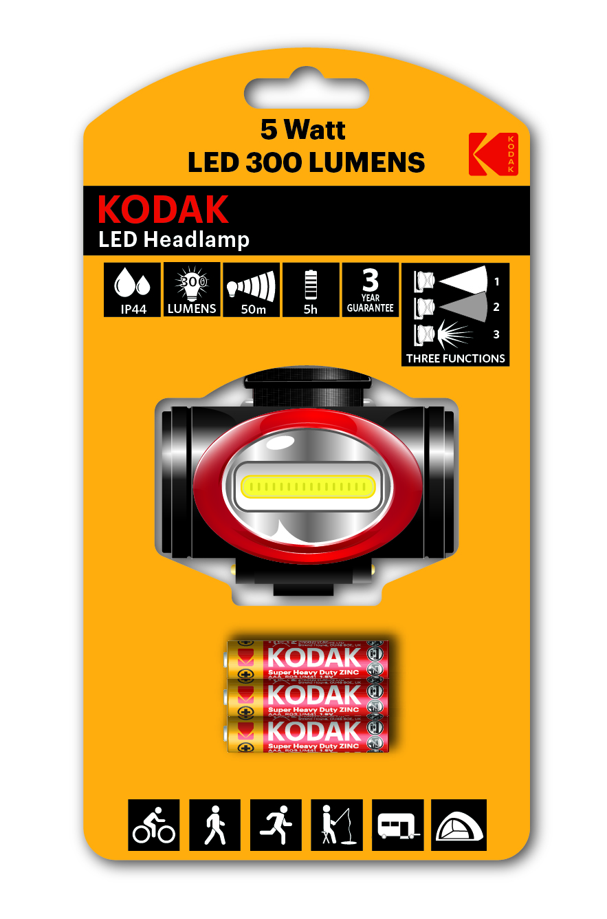 Order Reliable KODAK LED Active Headlamp Online in the UK | Kodak