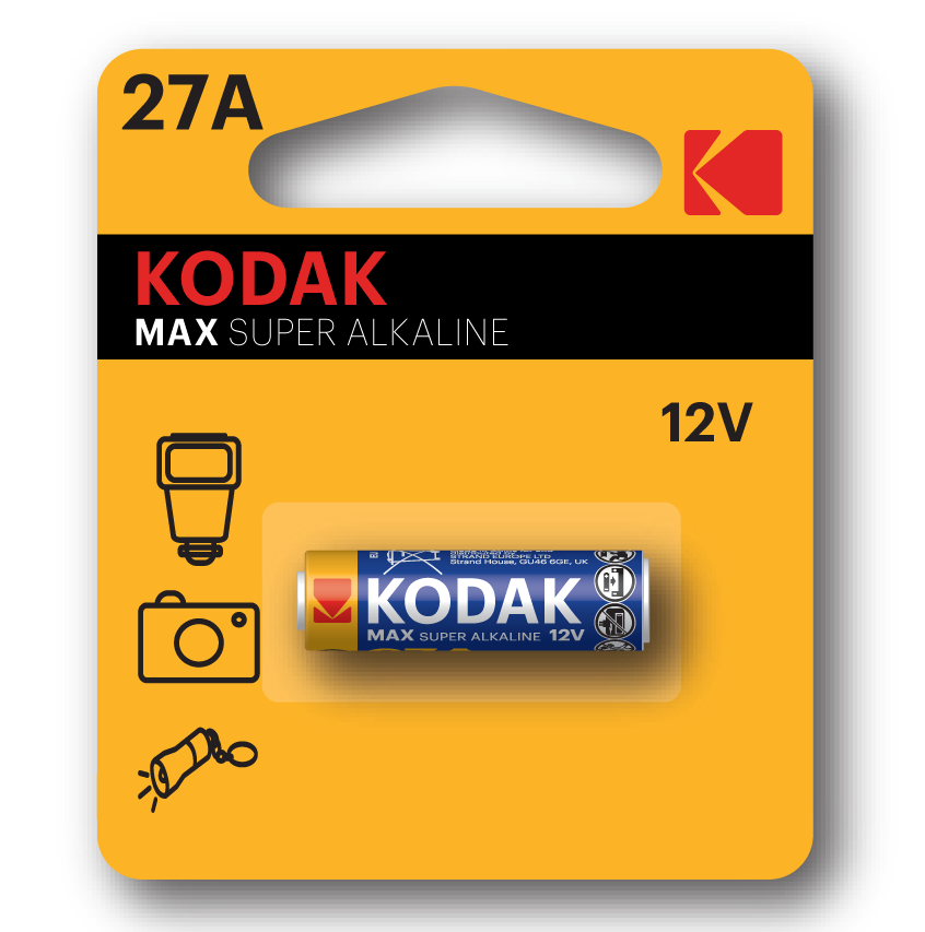 KODAK MAX Speciality Batteries