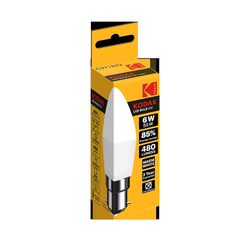 KODAK C37 LED Bulbs