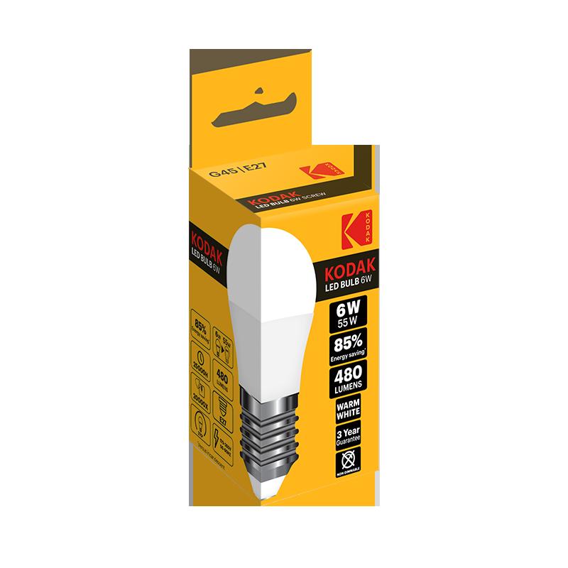 KODAK A60 and G45 LED bulbs