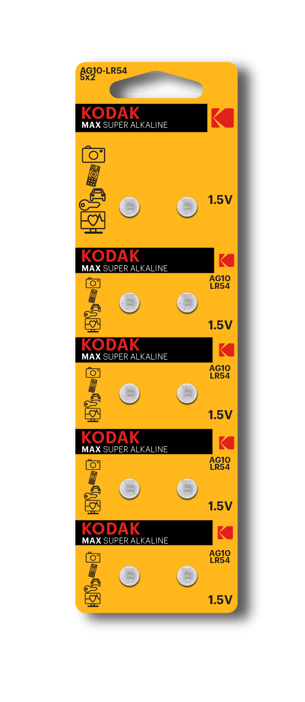 KODAK Alkaline Button Cells