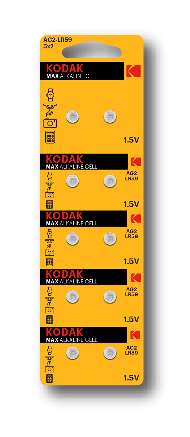 KODAK Alkaline Button Cells
