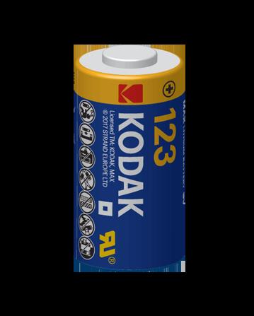 Kodak Max Lithium 123