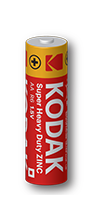Kodak Zinc Batteries