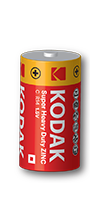 Kodak Zinc C Batteries