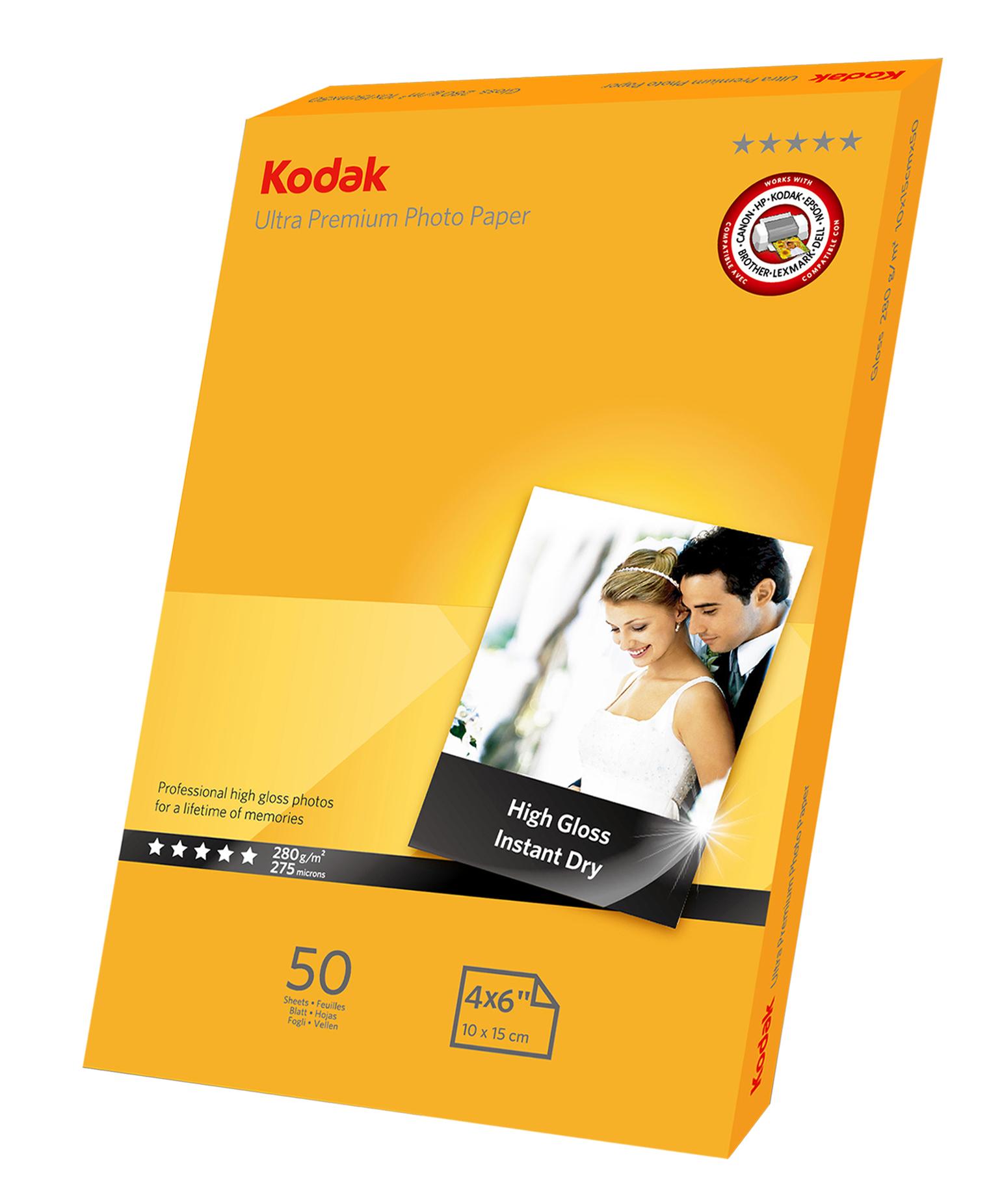 KODAK 10x15 + 13x18 Inkjet Photo Paper
