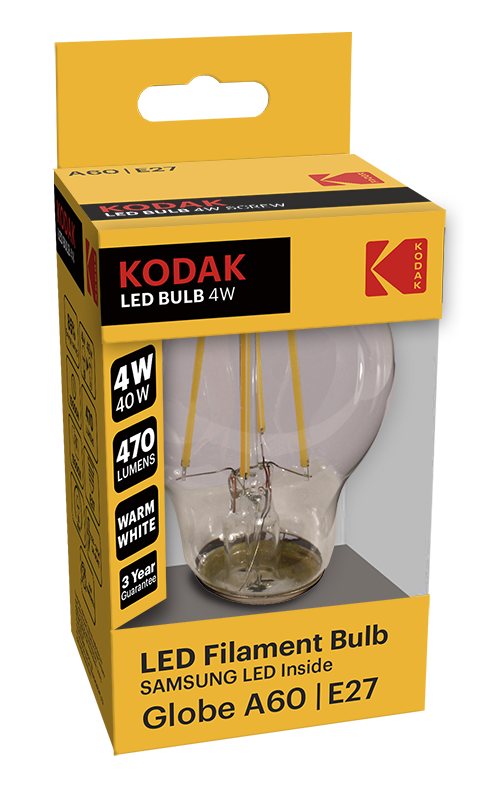 KODAK LED Filament Bulbs