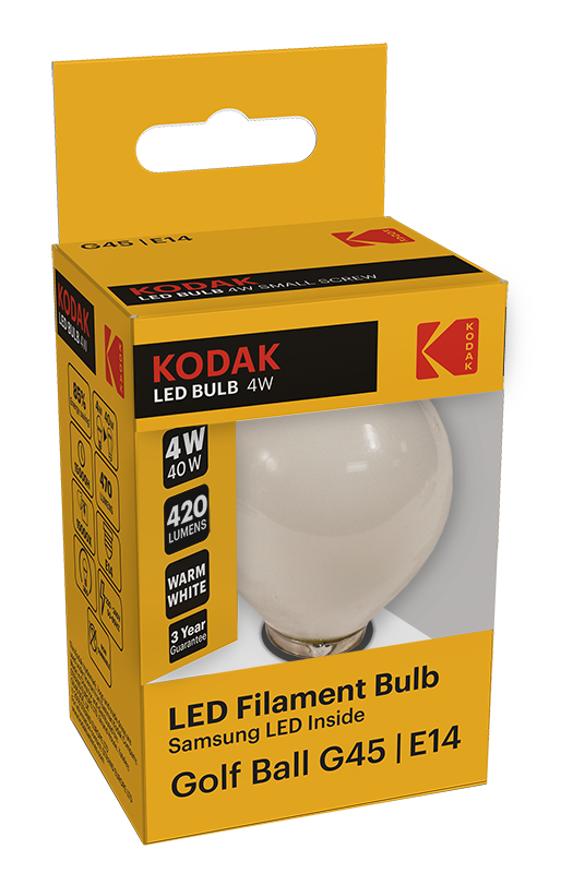 KODAK LED Filament Bulbs