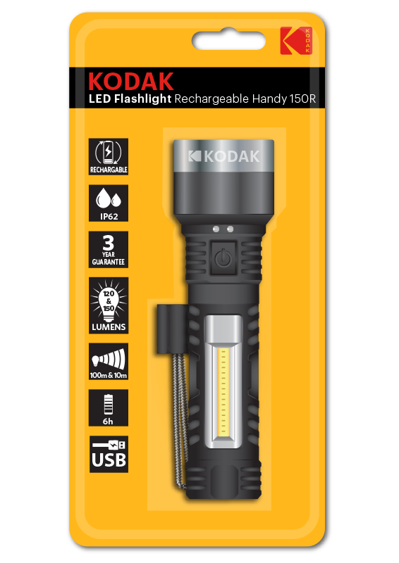 KODAK LED Rechargeable Flashlights