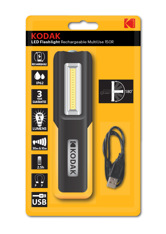 KODAK LED Rechargeable Flashlights